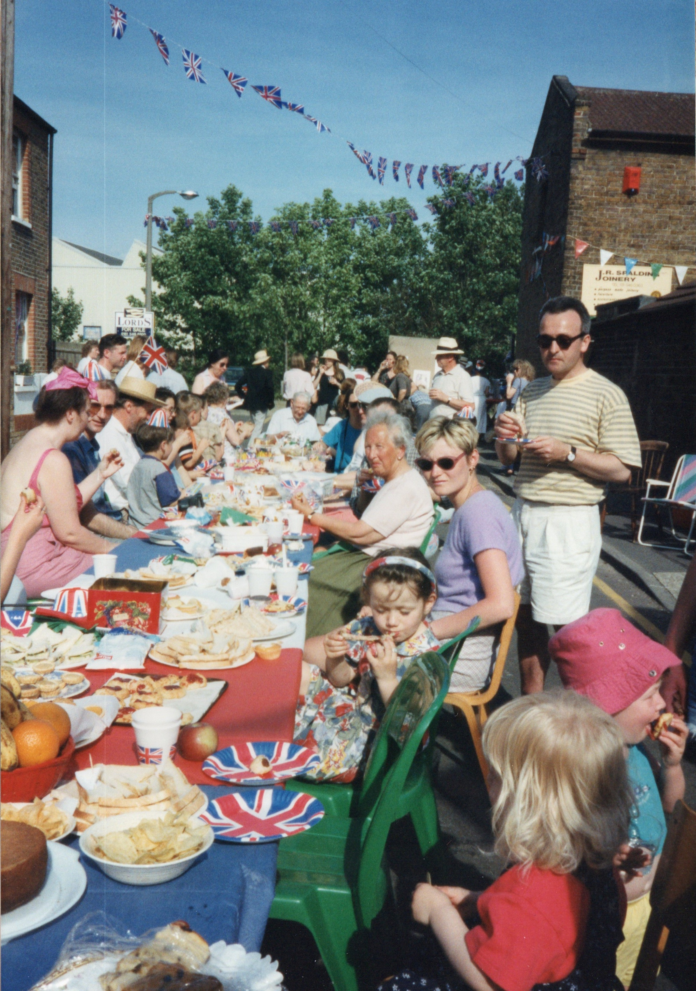 ve day street party 1995