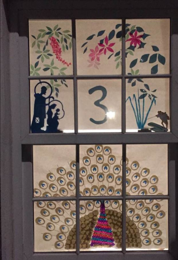 Advent Window Number three