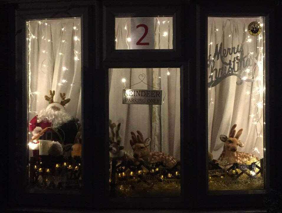 advent window number two